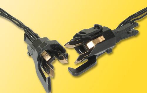 Viessmann 5071 - H0 Conducting couplers, 4-pole, 1 pair