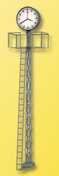 Viessmann 5081 - HO Lighted station plattform clock, 70mm tall