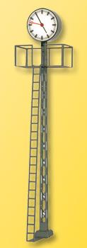 Viessmann 5082 - HO Lighted station plattform clock, 110mm tall