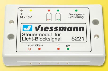 Viessmann 5221 - Control module for lighted block signal