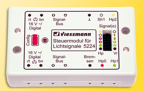 Viessmann 5224 - Digital control module for block light signal