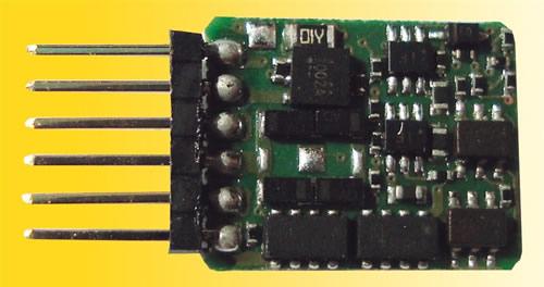 Viessmann 5241 - N decoder with pin header 6 pin NEM 651 S