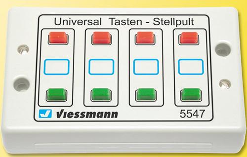 Viessmann 5547 - Push button panel 2-aspect