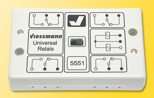 Viessmann 5551 - Universal relay 1 x 4 UM