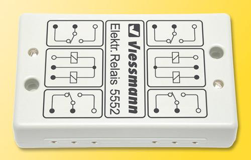 Viessmann 5552 - Electronic relay 2 x 2UM