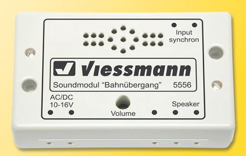 Viessmann 5556 - Sound module for a rail/road crossing