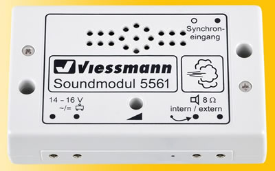 Viessmann 5561 - Sound module bad manners (to burp and to fart)