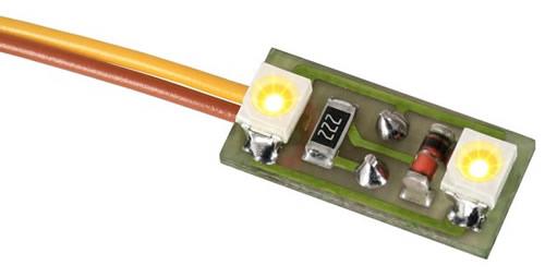 Viessmann 6021 - House illumination, 2 LEDs warm-white