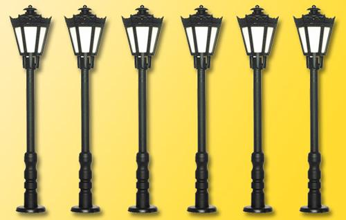 Viessmann 60706 - HO Park lamps, [5 + 1 count]