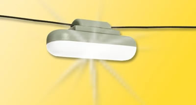 Viessmann 6366 - H0 Light hanging with rope, LED white
