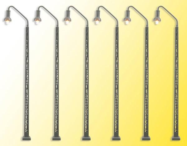Viessmann 65856 - N Railway lamp, LED warm-white, 5+1