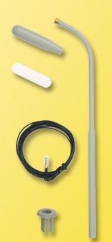 Viessmann 6722 - H0 Whip street light, LED white, kit
