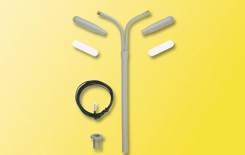 Viessmann 6923 - TT Curved lamp, kit