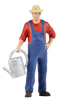 Gardener w. Watering Can, animated