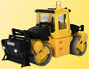 HO BOMAG Roller, STRABAG construction firm