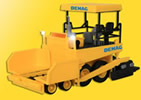 HO DEMAG Blacktop-laying machine, STRABAG construction firm