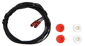 2 red bulbs,1.8mm, 16 volt, .5 watt