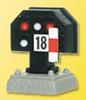 H0 Colour light stop signal, low