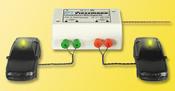 HO Double flashing-light unit, yellow