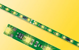 Lighting Set for passenger coaches w/14 yellow LED