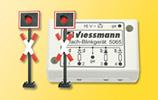 HO Flashing crossing warning lights [2 count]