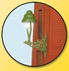 HO Wall-mounted gas lamp