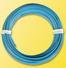 Coil of wire, 10 meters, 0.14mm diameter, white