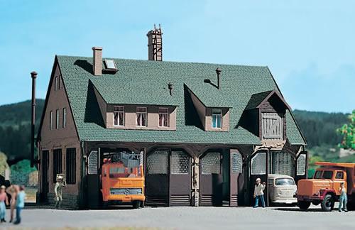 Vollmer 3753 - Road garage
