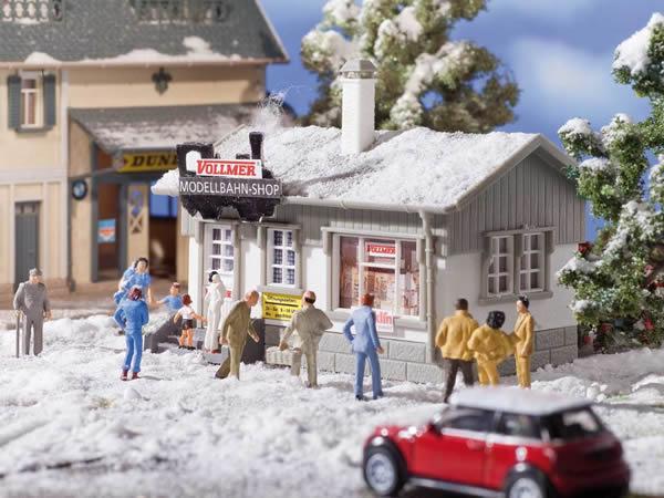 Vollmer 42418 - Model train shop