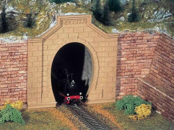 Vollmer 42504 - Tunnel portal Rheintal, single track, 2 pcs.