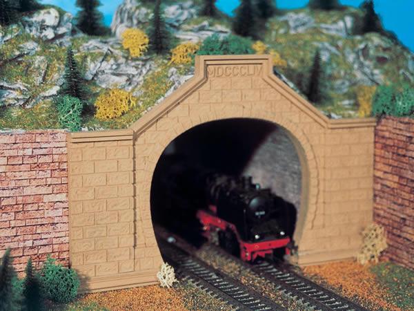 Vollmer 42505 - Tunnel portal Rheintal, double track, 2 pcs.