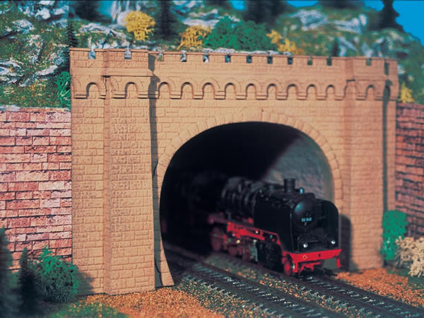 Vollmer 42506 - Tunnel portal Moseltal, double track, 2 pcs.