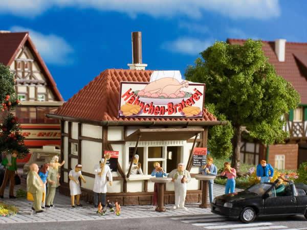 Vollmer 45139 - Kiosk Chicken Charly