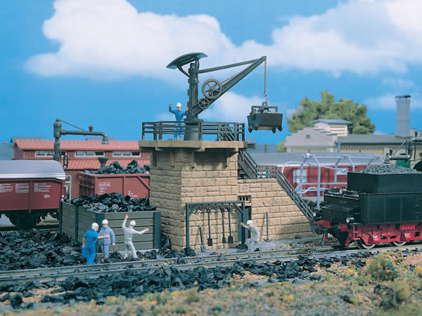 Vollmer 45718 - Coaling store small with crane