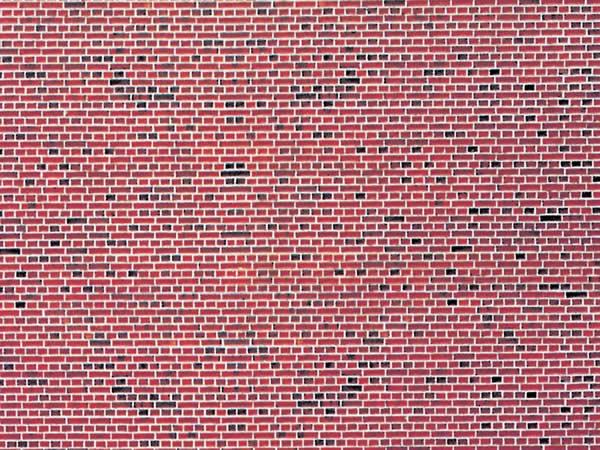 Vollmer 47361 - Wall plate red brick of cardboard