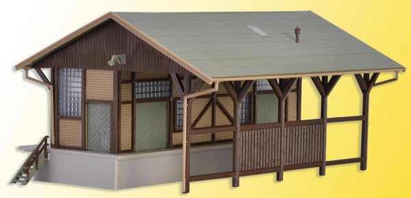 Vollmer 47539 - Freight shed, open