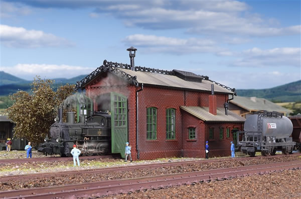 Vollmer 47607 - Loco shed, single track