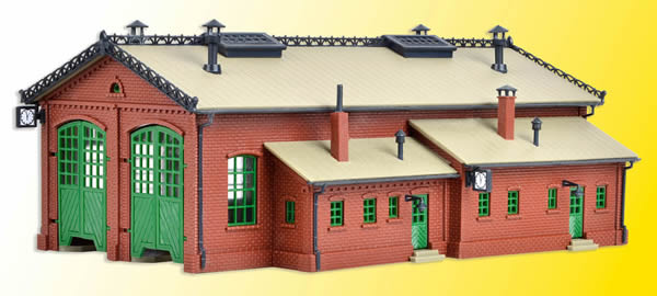 Vollmer 47608 - Loco shed, double track