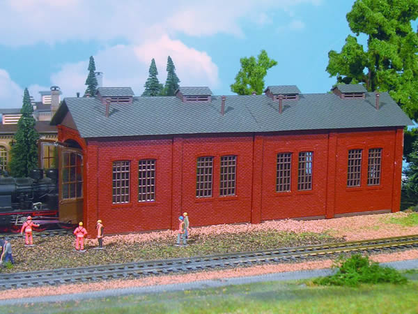 Vollmer 49112 - Loco shed, single track