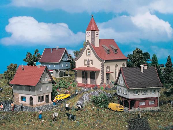 Vollmer 49555 - Set Village