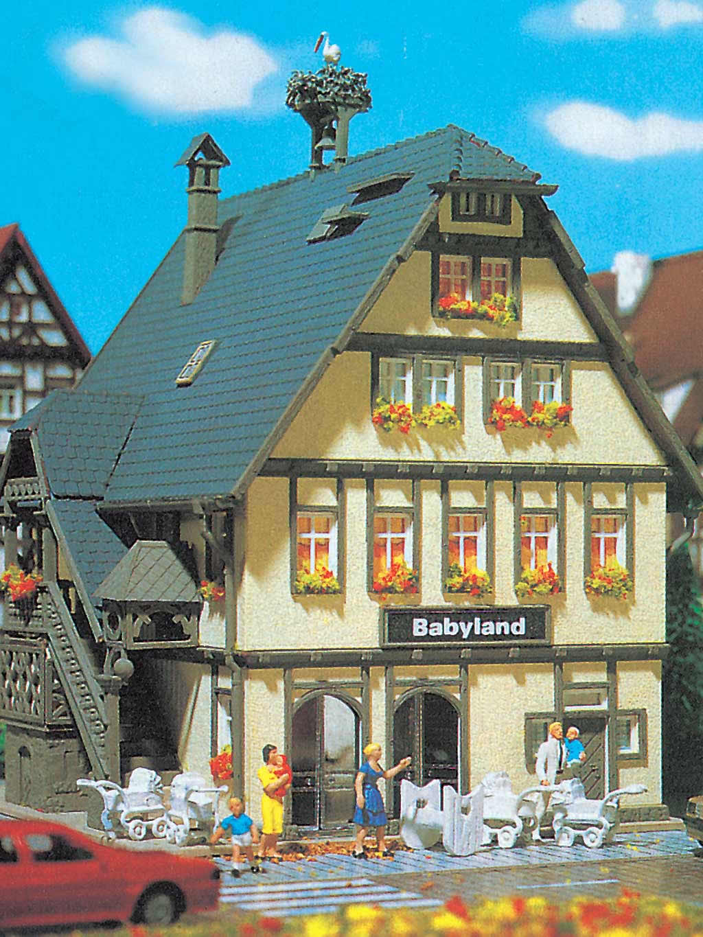 Vollmer 47661 babyland shop with interior and lighting - Printable ho scale building interiors ...