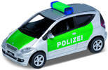 Mercedes-Benz A200, police, green/ silver, finished model
