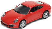 Porsche 911 Carrera S, red, finished model