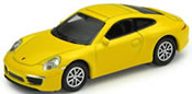 Porsche 911 Carrera S, yellow, finished model