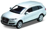 Audi Q7, silver, finished model