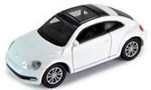 VW Beetle, white, finished model