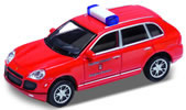 Porsche Cayenne Turbo, fire brigade, red, finished model