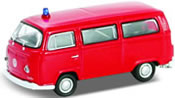 VW Bus T2, red, finished model