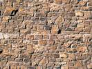 Wall plate brick beige-brown of cardboard