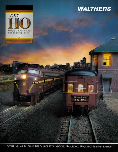 Walthers 216 - 2016 HO Reference Book